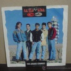 Discos de vinilo: LA LLAMADA - HAS JUGADO CONMIGO - SINGLE PROMOCIONAL SALAMANDRA 1992 - SG. Lote 37005123