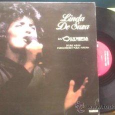 Discos de vinilo: LINDA DE SUZA AL OLYMPIA 1983 BRUNO COQUATRIX /DOBLE LP CARRERE MADE FRANCE PEPETO. Lote 37009661