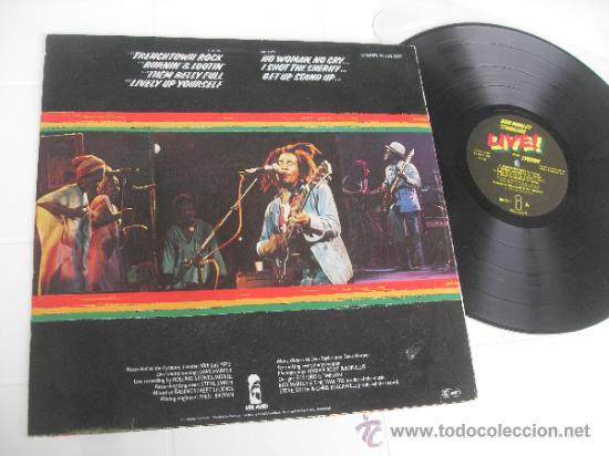 Discos de vinilo: BOB MARLEY LP Live Made in Germany 1975 matrix 89729 - Foto 2 - 37000748