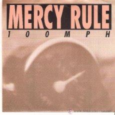 Discos de vinilo: MERCY RULE - 100 MPH ( SINGLE 90S INDIE, PUNK). Lote 37019386