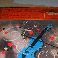 Discos de vinilo: HELMUT ZACHARIAS - VIOLONS ENCHANTÉS. Lote 37014554