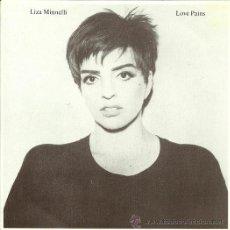 Discos de vinilo: LIZA MINNELLI SINGLE SELLO EPIC AÑO 1990 EDITADO EN ESPAÑA (PROMOCIONAL SOLO UNA CARA) . Lote 37027629