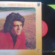 Discos de vinilo: ENRICO MACIAS PLEINS FEUX SUR VOL 2 DOBLE ALBUM / PHILIPS CANADA PEPETO. Lote 37046099