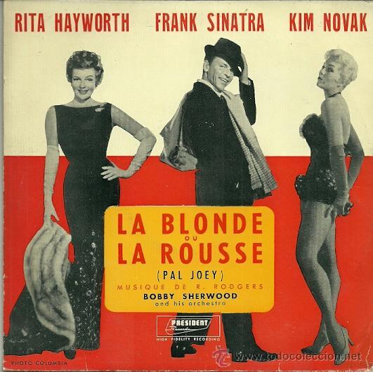 BOBBY SHERWOOD EP SELLO PRESIDENT EDITADO EN FRANCIA. DEL FILM PAL JOEY (Música - Discos de Vinilo - EPs - Bandas Sonoras y Actores)