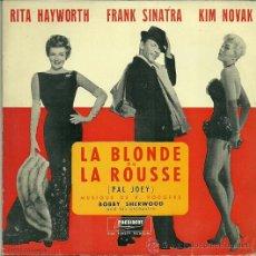 Discos de vinilo: BOBBY SHERWOOD EP SELLO PRESIDENT EDITADO EN FRANCIA. DEL FILM PAL JOEY. Lote 37043502