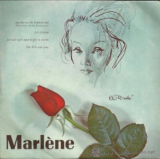 MARLENE DIETRICH EP SELLO LA VOZ DE SU AMO EDITADO EN HOLANDA (Música - Discos de Vinilo - EPs - Bandas Sonoras y Actores)