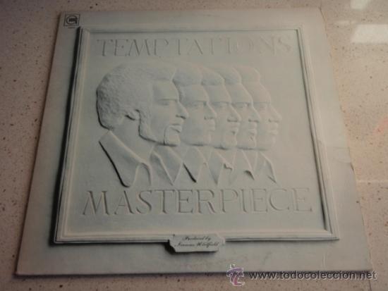 TEMPTATIONS ( MASTERPIECE ) CALIFORNIA-USA 1973 LP33 MOTOWN RECORD (Música - Discos - LP Vinilo - Funk, Soul y Black Music)