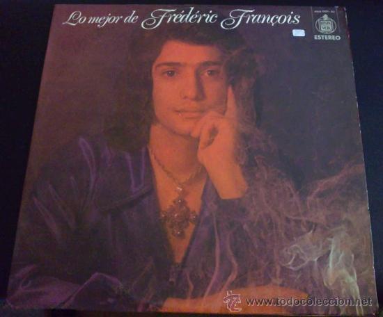 LO MEJOR DE FRÉDERIC FRANÇOIS - LP DE VINILO (Música - Discos - LP Vinilo - Canción Francesa e Italiana)