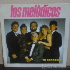 Discos de vinilo: LOS MELÓDICOS - MI CORAZÓN / SUAVECITO - SINGLE FONOMUSIC 1992 - SI. Lote 37059021