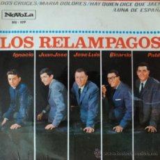 Discos de vinilo: LOS RELÁMPAGOS - DOS CRUCES - EDICIÓN DE 1965 DE ESPAÑA. Lote 37069197