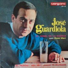 Discos de vinilo: JOSÉ GUARDIOLA - EL ANGEL DE LA GUARDA - EDICIÓN DE 1965 DE ESPAÑA. Lote 37078892