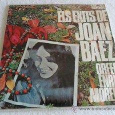 Discos de vinilo: ORFEO ENRIC MORERA - ELS EXITS DE JOAN BAEZ HIMNE + 3 EP 1967. Lote 37106306