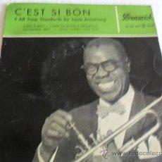 Discos de vinilo: LOUIS ARMSTRONG -C'EST SI BON + 3 EP 1959. Lote 37106789