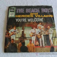 Discos de vinilo: BEACH BOYS - HEROES AND VILLAINS - YOU'RE WELCOME ALEMANIA. Lote 37123831