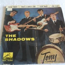 Discos de vinilo: SHADOWS - GUITAR TANGO + 3 EP 1962. Lote 37124584