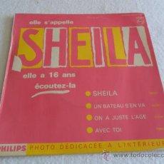 Discos de vinilo: SHEILA - SHEILA - AVEC TOI + 3 EP . Lote 37140313