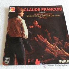 Discos de vinilo: CLAUDE FRANÇOIS - PARDON +3 EP . Lote 37143773