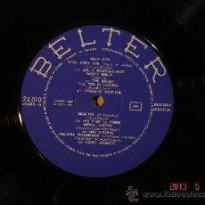 Discos de vinilo: THE BRISKS / LOS 4 DE LA TORRE Y MAS - ONLY HITS - BELTER 22.010 - 1966 - SOLO VINILO. Lote 37075999