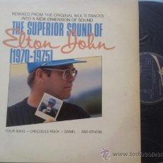 Discos de vinilo: LP ELTON JOHN-THE SUPERIOR SOUND OF...1970-75-ESPAÑA-1983. Lote 37077682