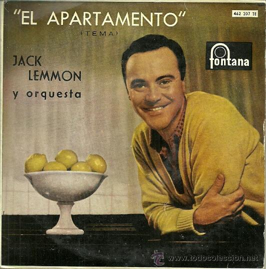 JACK LEMON EP SELLO FONTANA AÑO 1960 EDITADO EN ESPAÑA (Música - Discos de Vinilo - EPs - Bandas Sonoras y Actores)