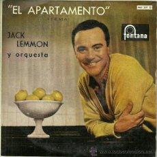 Discos de vinilo: JACK LEMON EP SELLO FONTANA AÑO 1960 EDITADO EN ESPAÑA. Lote 37077811
