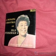 Discos de vinilo: A SWINGING CHRISTMAS WITH ELLA FITZGERALD -F DEVOL EP 196? SWEDEN. Lote 37078001