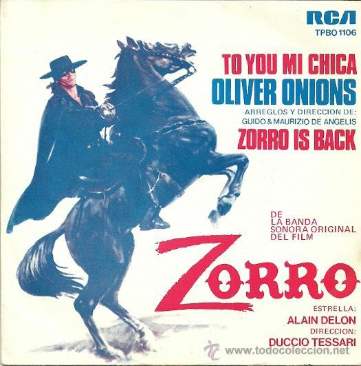 ALAIN DELON SINGLE SELLO RCA VICTOR EDITADO EN ESPAÑA AÑO 1975 (PROMOCIONAL) (Música - Discos - Singles Vinilo - Otros estilos)