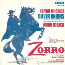 Discos de vinilo: ALAIN DELON SINGLE SELLO RCA VICTOR EDITADO EN ESPAÑA AÑO 1975 (PROMOCIONAL). Lote 37078095