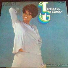 Discos de vinilo: TERESA GRAVES, EVERYBODY'S TALKIN' - LP ORIGINAL ESPAÑA CON TEXTOS EN ESPAÑOL EN CONTRAPORTADA. Lote 37081590