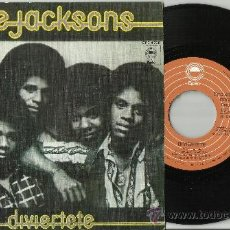 Discos de vinilo: THE JACKSONS SINGLE ENJOY YOURSELF ESPAÑA 1976. Lote 37082813