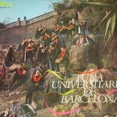 Discos de vinilo: TUNA UNIVERSITARIA DE BARCELONA - LP - EKIPO 1967 SPAIN. Lote 37089589