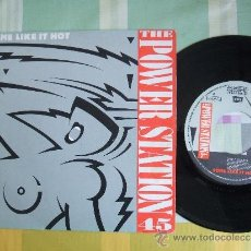 Discos de vinilo: THE POWER STATION : SOME LIKE IT HOT (SINGLE EMI 1985) VG+. Lote 37091146