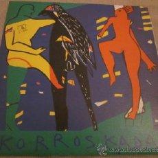 Discos de vinilo: KORROSKADA - SIGO - HILARGI RECORDS - AÑO 1991 - HOJA PROMOCIONAL.. Lote 37092461