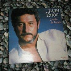 Discos de vinilo: +++LP-VINILO-DOBLE-JUAN PARDO-CABALLO DE BATALLA-HISPAVOX-18 CANCIONES-.. Lote 37096604