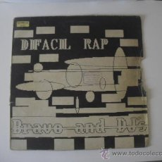 Discos de vinilo: DIFACIL RAP MAXI PACO BRAV,JOE ROSARIO, SEBASTIAN TECLAS, DJ`S DIFACIL RAP IMPACT RECORDS. Lote 37154062