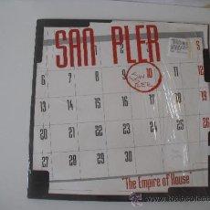Discos de vinilo: SAN PLER THE EMPIRE OF HOUSE.MAXI DE 1996.. Lote 37165159
