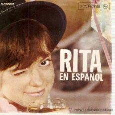 Discos de vinilo: EP RITA PAVONE RITA CANTA EN ESPAÑOL. Lote 37102393