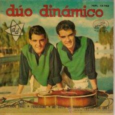 Discos de vinilo: EP DUO DINAMICO BAILANDO TWIST -PERDONAME - ME GUSTA EL TWIST - DIME POR QUE?. Lote 37103374