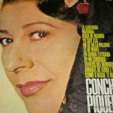 Discos de vinilo: CONCHITA PIQUER - YO SOY ESA / LA CARAMBA - LP - COLUMBIA 1971 SPAIN. Lote 37105740