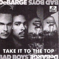 Discos de vinilo: DEBARGE-TAKE IT TO THE TOP SINGLE VINILO 1987 SPAIN. Lote 37123956