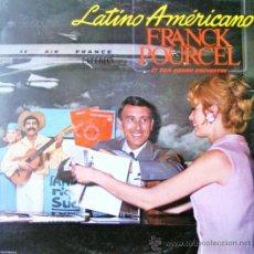 Discos de vinilo: LATINO AMERICANO - FRANCK POURCEL . Lote 37124330