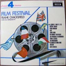 Vinyl-Schallplatten - FILM FESTIVAL - FRANK CHACKSFIELD - 37124456