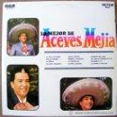Discos de vinilo: LOMEJOR DE AVECES MEJIA . Lote 37124514