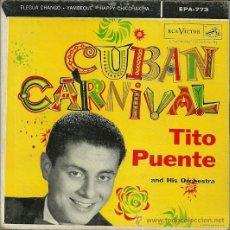 Discos de vinilo - TITO PUENTE SINGLE SELLO RCA VICTOR EDITADO EN USA. - 37128632