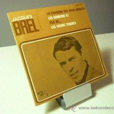 Discos de vinilo: ACQUES BREL EP LE CHANSON DE VIEUS AMANTS VINILO LP. Lote 37131601