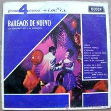 Discos de vinilo: BAILEMOS DE NUEVO - CON EDMUNDO ROS Y SU ORQUESTA . Lote 37142533