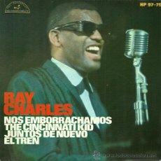 Discos de vinilo: RAY CHARLES EP SELLO HISPAVOX AÑO 1966 EDITADO EN ESPAÑA. Lote 37145485