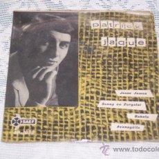 Discos de vinilo: PATRICK JAQUE Y SU CONJUNTO 7´EP JESS JAMES + 3 TEMAS (1960) RARO. Lote 37151139