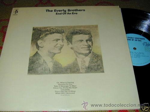 Discos de vinilo: everly brothers, end of an era !! DOBLE LP, 18 TEMAS !!!! ORIG EDT UK !! TODO EXC !!!!!!!!!!!!!! - Foto 4 - 37156941