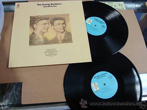 Discos de vinilo: everly brothers, end of an era !! DOBLE LP, 18 TEMAS !!!! ORIG EDT UK !! TODO EXC !!!!!!!!!!!!!! - Foto 5 - 37156941